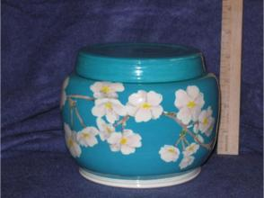 Lidded Ginger Jar