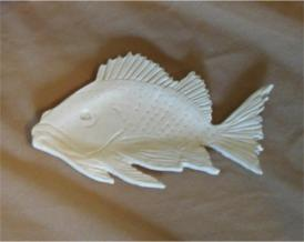 Bass Fish spoon Rest