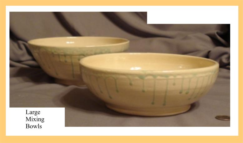 9 and 10 inch bowls