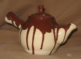 Chocolate Drip Teapot